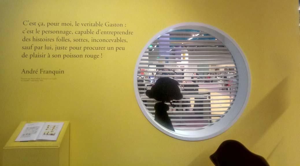 exposition-gaston-lagaffe-franquin-bpi-centre-pompidou
