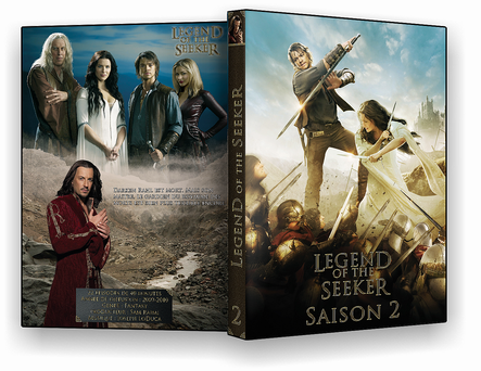 Cover legend of the seeker saison 2